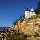 Bass Harbor Lighthouse by Daniel H Chui