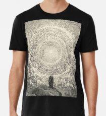 Dante, Himmel, Himmlische, Göttliche Komödie, Gustave Doré, Höchste, Himmel Männer Premium T-Shirts