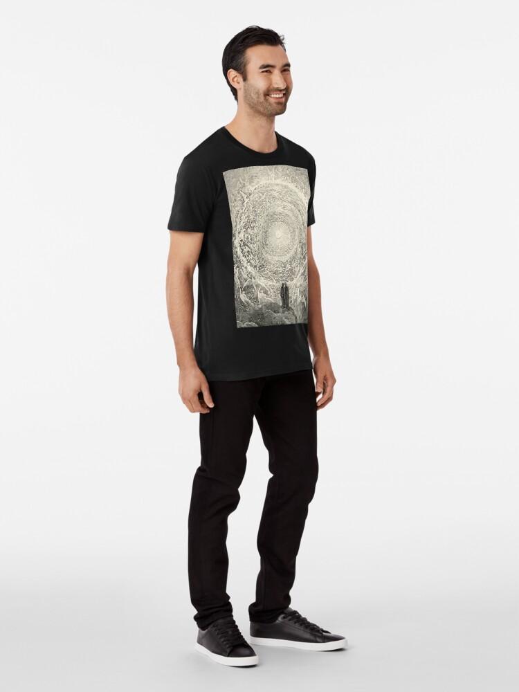 Alternative Ansicht von Dante, Himmel, Himmlische, Göttliche Komödie, Gustave Doré, Höchste, Himmel Premium T-Shirt
