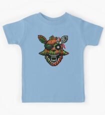 Five Nights at Freddy's 3 - Pixel art - Phantom Foxy Kids Tee