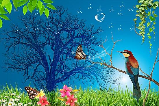 bird by ariaznet