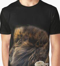und der Löwe soll sich mit dem Lamm hinlegen Grafik T-Shirt
