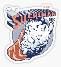 Sushiman - Sushi Lover Sticker