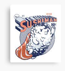 Sushiman - Sushi Lover Metal Print