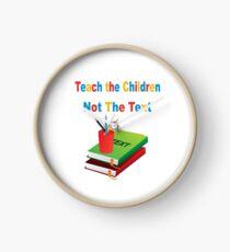 Teach the Children Clock