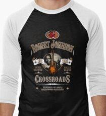 Robert Johnson Devil Driven Delta Blues  Men's Baseball ¾ T-Shirt
