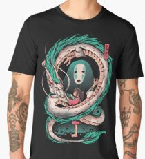The girl and the dragon Men's Premium T-Shirt
