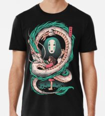 The girl and the dragon Premium T-Shirt