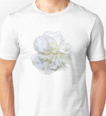 Single White Carnation - Hipster/Pretty/Trendy Flowers Unisex T-Shirt