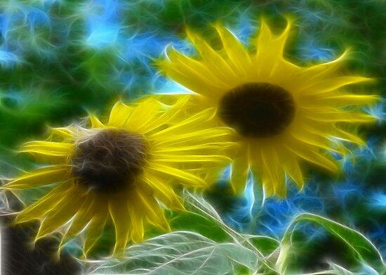 Sisters of the Sun & Moon by tkrosevear