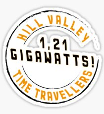 Hill Valley Time Travellers  Sticker