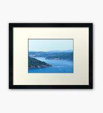 Clear Summers Day Framed Print