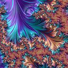 Royal Fractal 42842 by Jeff Dufour