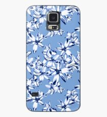 Blaue Hyazinthen Hülle & Klebefolie für Samsung Galaxy