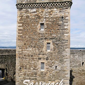 Sassenach !  Blackness Castle Fort William in Outlander by goldyart