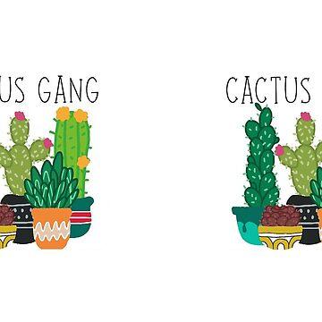 Cactus Gang mug by gerby