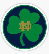 NOTRE DAME FIGHTING IRISH UNIVERSITY Sticker