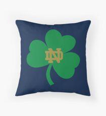 NOTRE DAME FIGHTING IRISH UNIVERSITY Throw Pillow