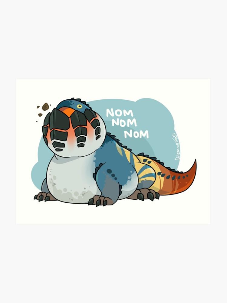Dodogama Monster Hunter World Art Print