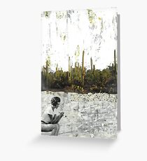 Street on the Edge of Town Greeting Card