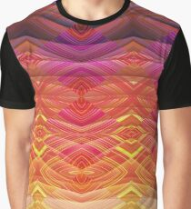Rainbow Landscape Magic Pattern Graphic T-Shirt