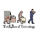 The Evolution of Technology by borderbandit