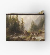 Albert Rieger (1834-1905) - Mountain stream Studio Pouch