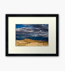 Sunlight over Death Valley Framed Print