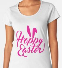 """Hoppy"" Easter Design Women's Premium T-Shirt"