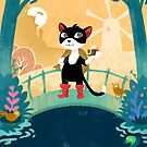Master Cat or the story how the  youngest son inherited a cat by Titta Lindström