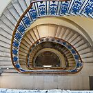 Somerset House staircase, London by GrahamCSmith