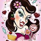 Pinup Girly sweets von tattoofreak