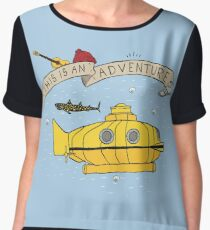 This Is An Adventure Chiffon Top