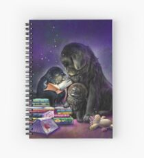 Newfies and the magic of reading Spiral Notebook