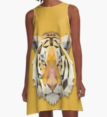 Tiger A-Line Dress