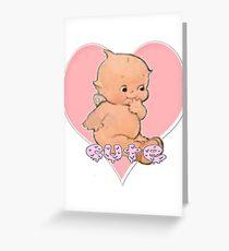 kewpie Greeting Card