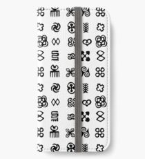 Adinkra Symbols From West Africa iPhone Wallet/Case/Skin