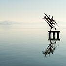 Floating sculpture, Passignano sul Trasimeno, Umbria by Andrew Jones