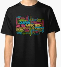 AB/DL words cloud Classic T-Shirt