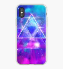 Space Vector 3 - Synth Galactic Vaporwave iPhone Case
