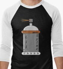 Lil Sylnc Spray Can Men's Baseball ¾ T-Shirt