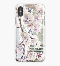 Cherry Blossoms on Wedding Cake iPhone Case