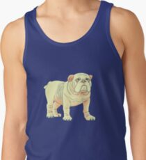 Bulldog in the Shade Tank Top