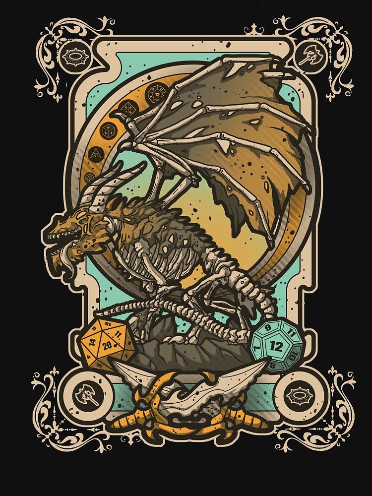 Zombie Dragon de Letter-Q