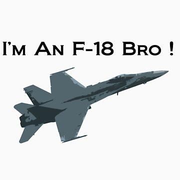 I'm An F-18 Bro ! (Charlie Sheen) by JayBakkerArt