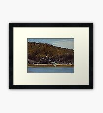 The Camp, Sirius Cove by Tom Roberts Framed Print