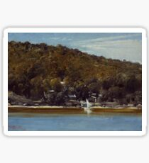 The Camp, Sirius Cove by Tom Roberts Sticker