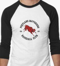 Portland Mavericks Baseball Club Shirt Retro Vintage 70s TBT Men's Baseball ¾ T-Shirt