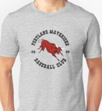 Portland Mavericks Baseball Club Shirt Retro Vintage 70s TBT Unisex T-Shirt