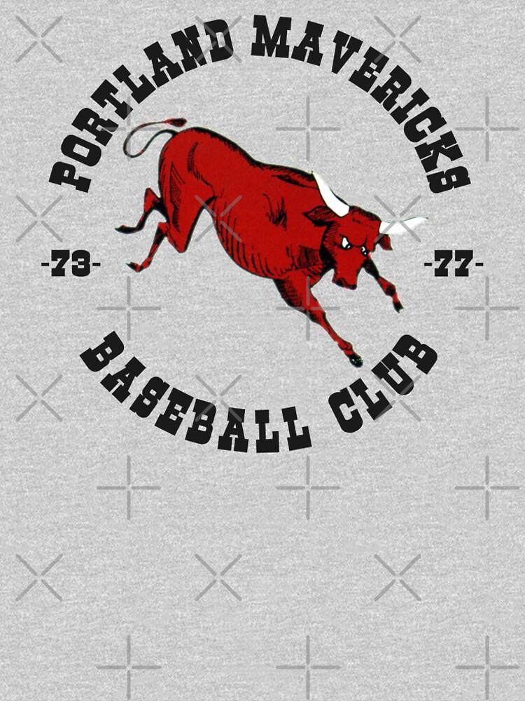 Portland Mavericks Baseball-Verein-Hemd 70s Retro Vintage TBT von vasebrothers